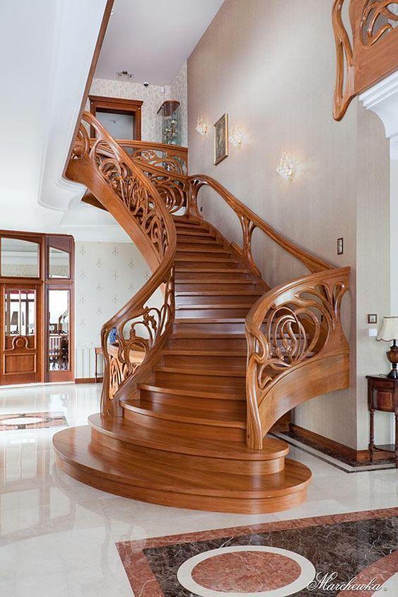 Best Good Stair Railing Ideas Basement Only In Interioropedia Design Modern Staircase Wooden 640 x 480