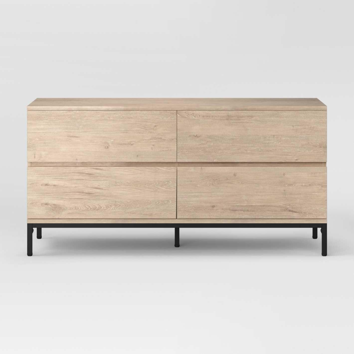 The Best Dressers Under 500 According To Interior Designers 4 Drawer Dresser Dresser Drawers Best Home Interior Design [ 1420 x 1420 Pixel ]