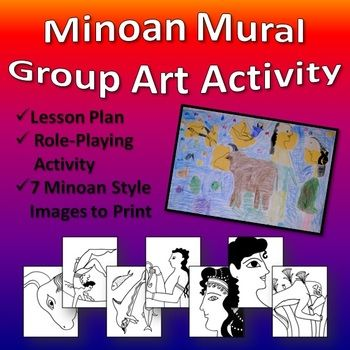 Minoan Mural Group Art Activity Minoan, Role play and Group - what is a lesson plan and why is it important
