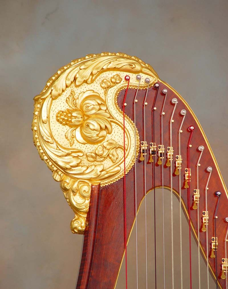 how to build a harp