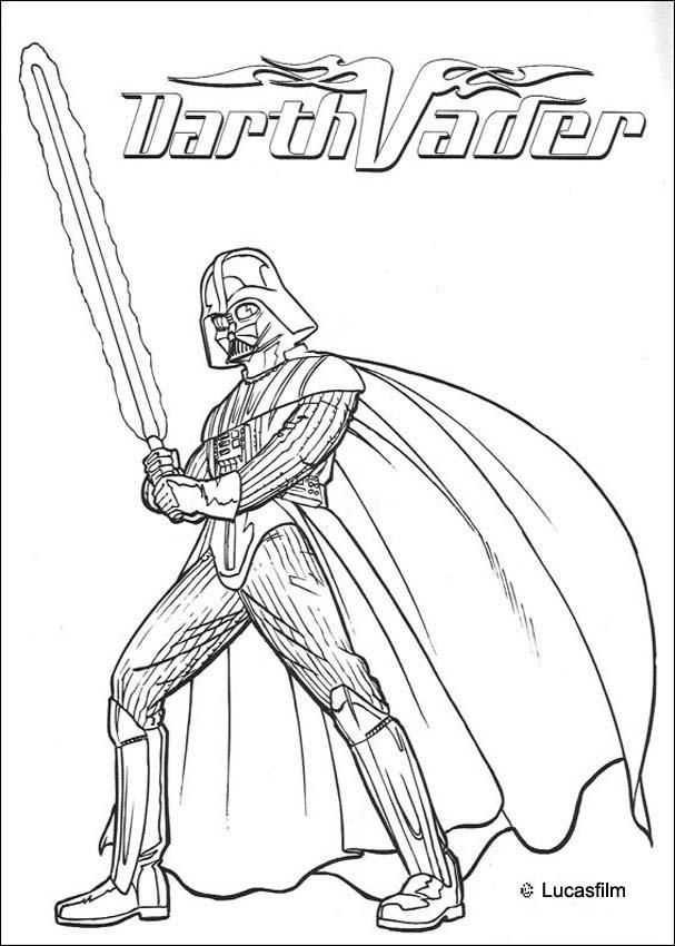 Darth Vader | Coloring pages | Pinterest | Coloring pages, Star Wars ...