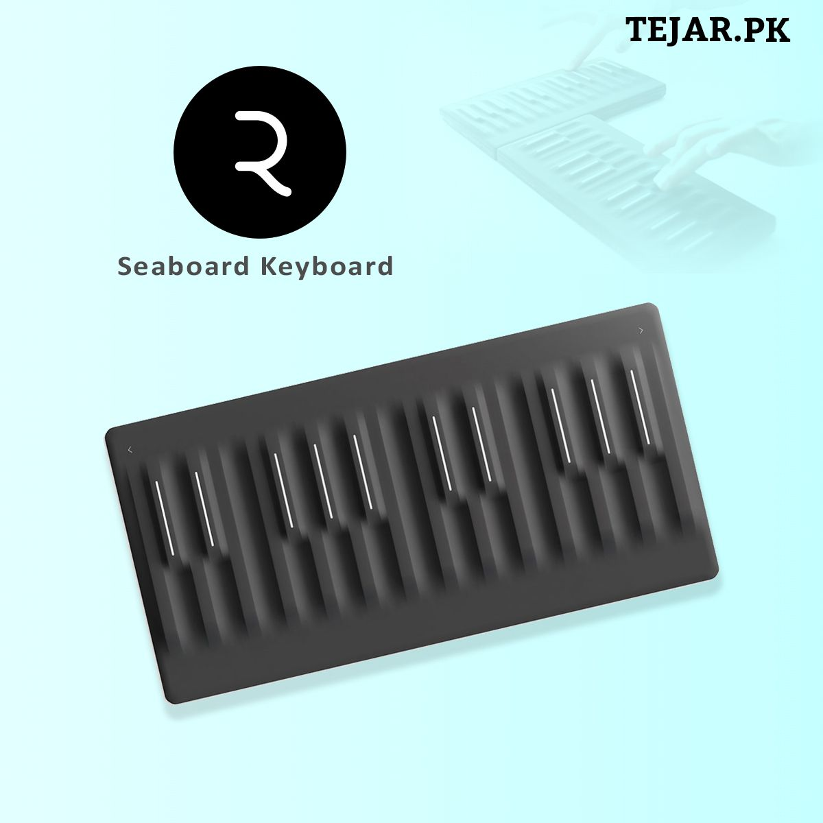 Roli Seaboard Block Super Powered Keyboard Buy Computer Touch Technology Music Making Software