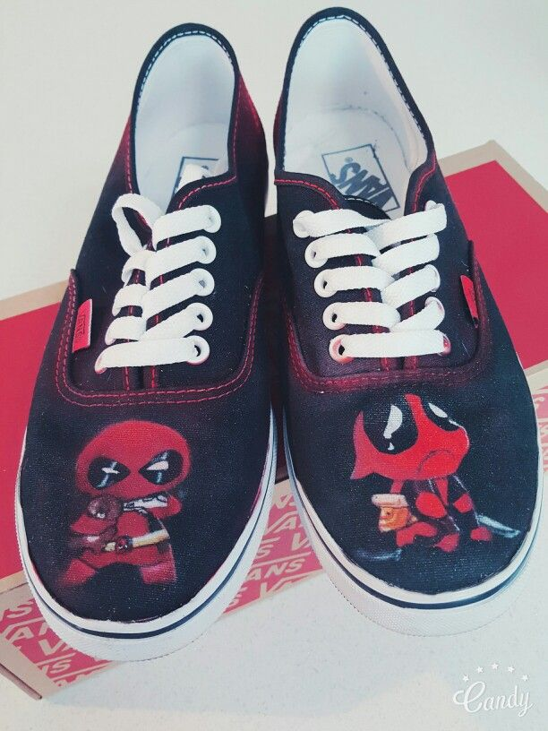 Carter On 2019Custom By Deadpool Lacey Pin Shoes In Vans HDEIW29