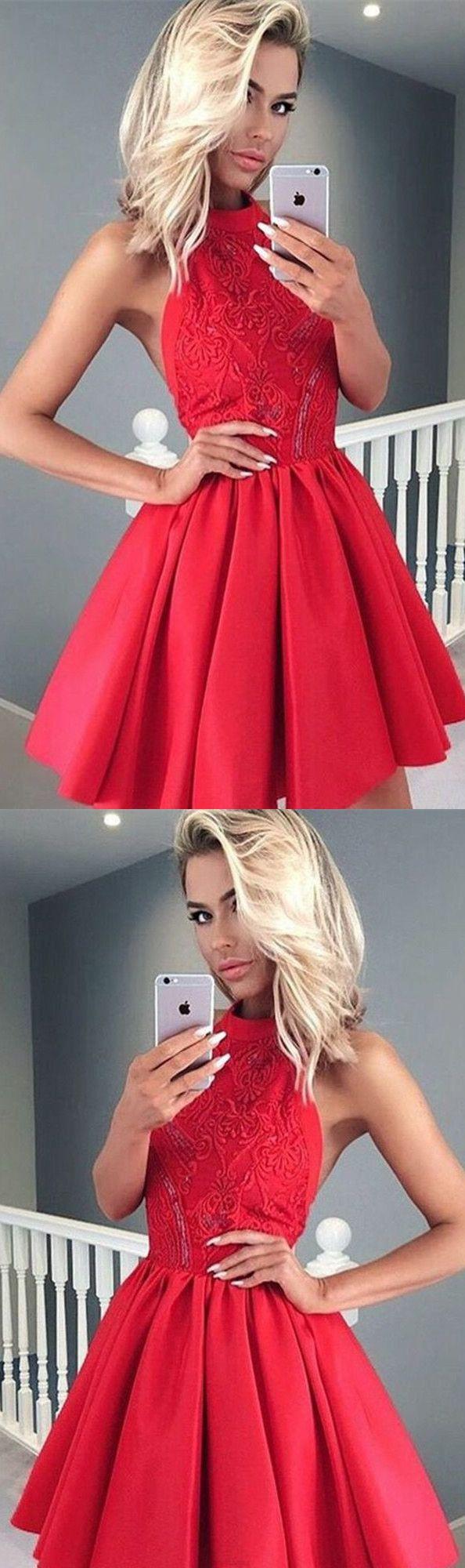 Red Prom Dresses Short Prom Dresses Sexy Prom dresses Prom