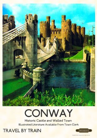 Conway Castle, North Wales #northwales