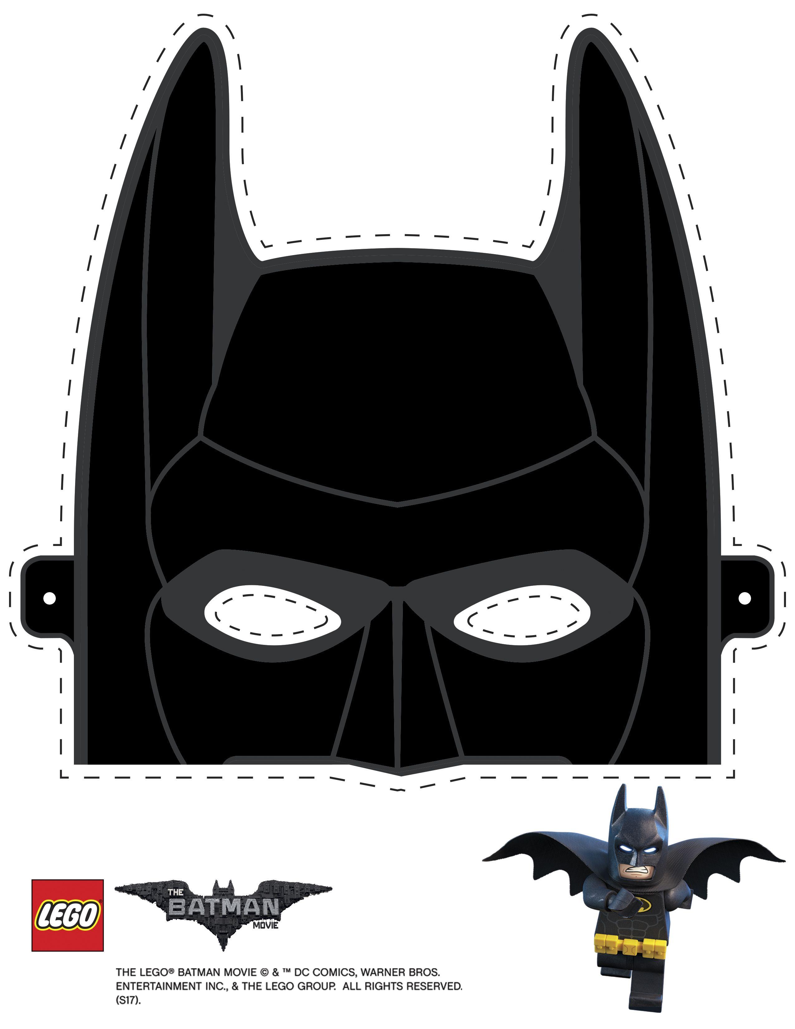 Kids Batman Mask Template Page 1 Line 17qq Com