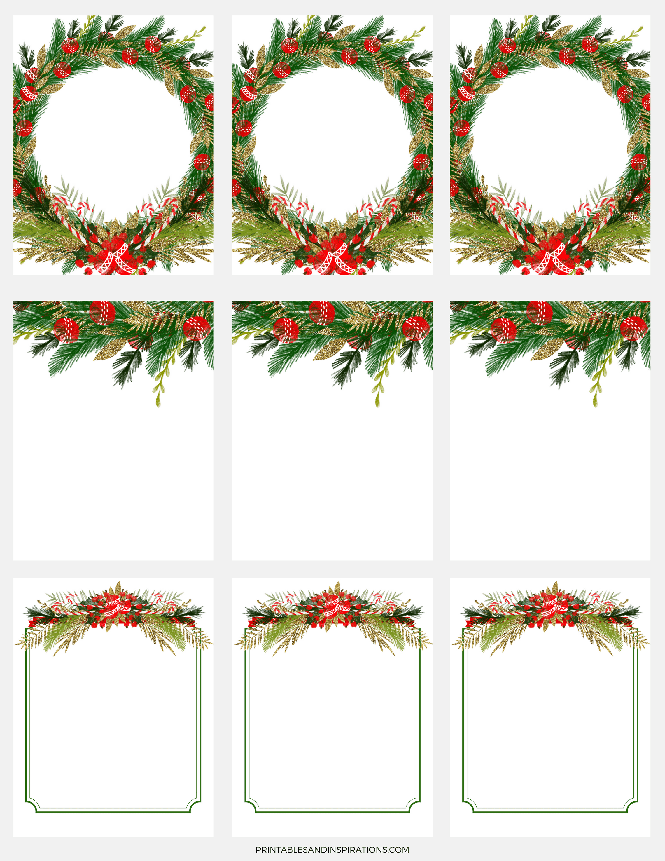 Free Digital Paper For Christmas Decorations Gift Tags And Stickers