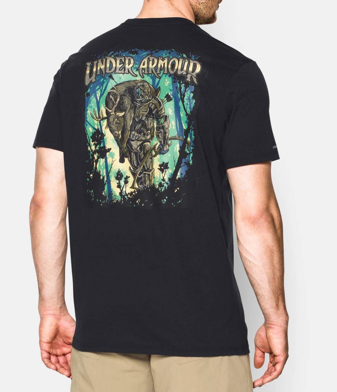 Men's UA Shoulder Mount Hunter T-Shirt | Under Armour US