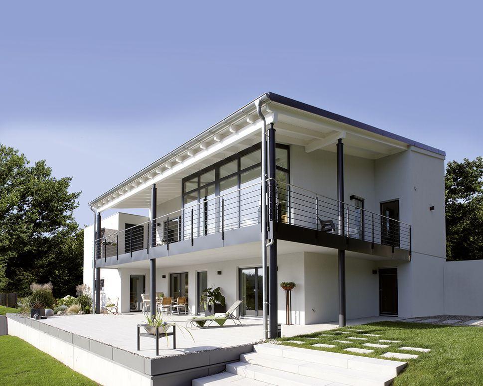 frei geplantes architektenhaus am hang so k nnte es aussehen fertighaus fertigh user und. Black Bedroom Furniture Sets. Home Design Ideas