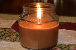 Chocolate Biscotti Candle by Mainstays