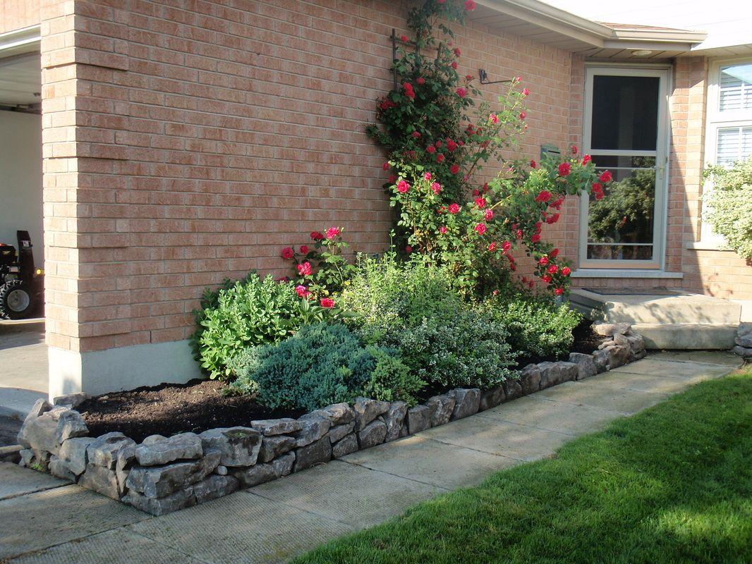 Slate Garden Flowerbed Wall | Lawn and garden, Slate ...
