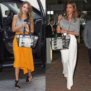 SPOTTED: Jessica Alba is fan van haar Louboutin it-bag