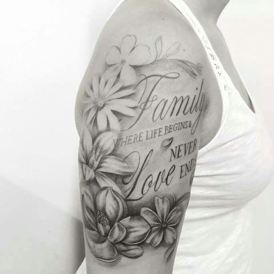 Pin By Marisa Johansen On Tattoos Half Sleeve Tattoos For Guys Tattoos For Women Half Sleeve Family Sleeve Tattoo