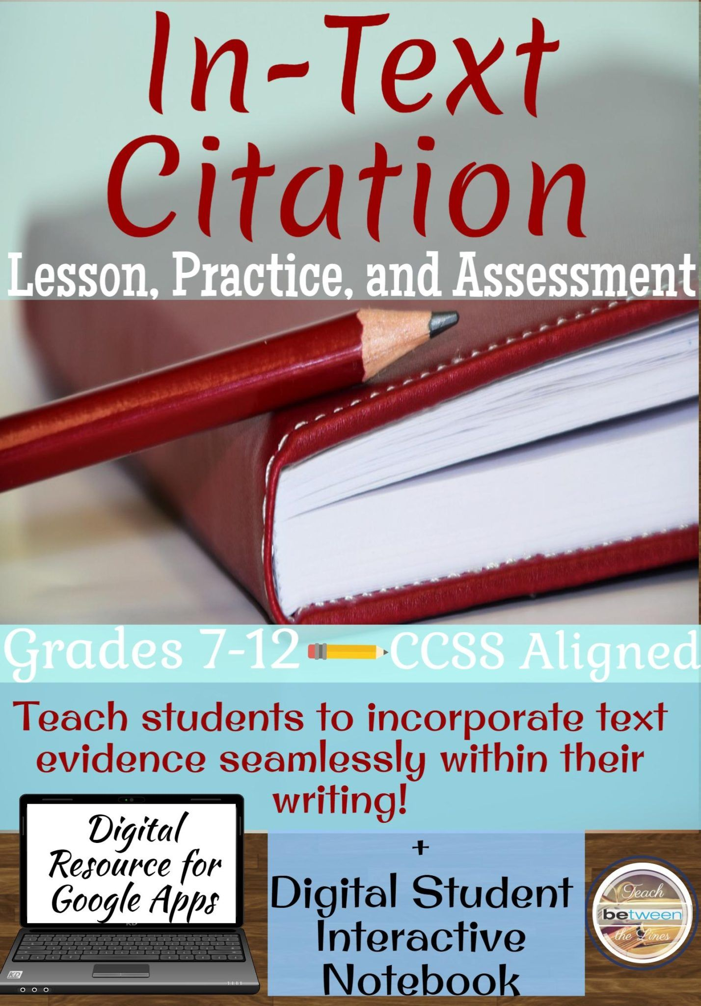 In Text Citation Lesson Practice And Assessment Mla 8th Edition The Best Of Teacher Entrepreneur Marketing Cooperative Teaching Writing Parenthtical Notation Paraphrasing