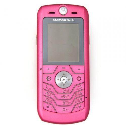 Nuevo-Motorola-Slvr-L6-Rosa-Desbloqueado-Celular-Altavoz-telefono