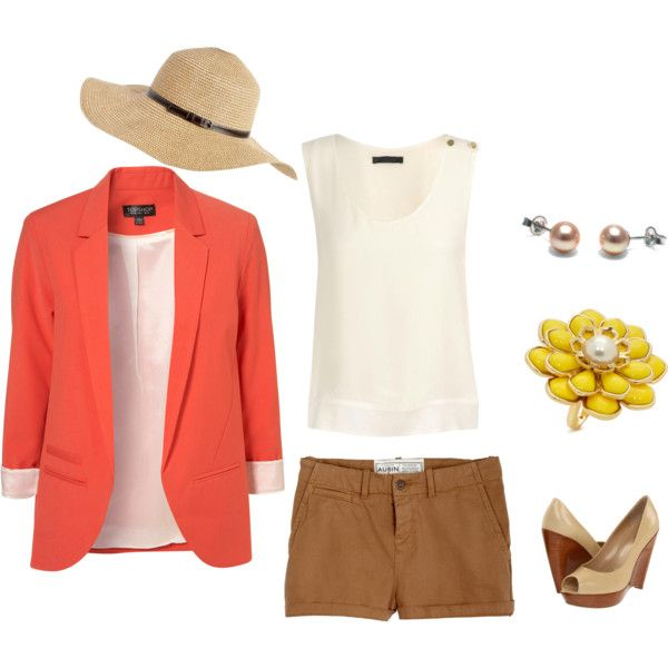 Really cute for Spring, minus the hat.