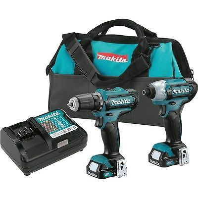 79093 Tools New Makita 12v Max Lithium Ion Cordless Impact Drill Driver Combo Kit Buy It Now Only 135 0 New Makita 12v Max Li Combo Kit Makita Impact Driver