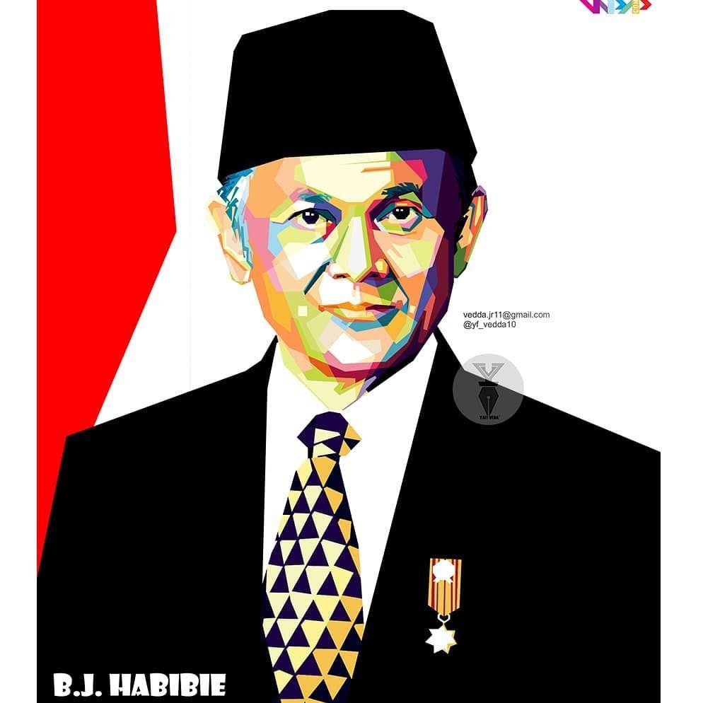 b j habibie wpapindo wpapindonesia wpap wpapmurah openorder vectorwajah vector vectormurah bestvector kartun presiden indonesia di 2020 kartun presiden pinterest