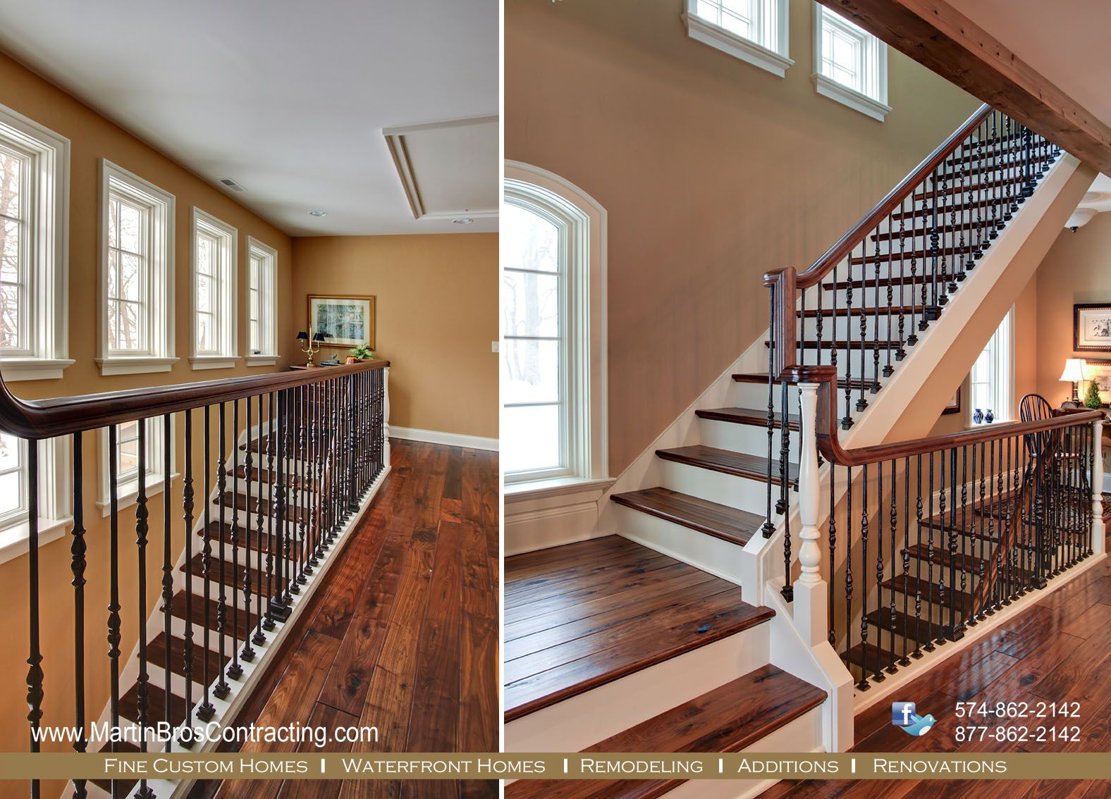 Best A Nice Example Of A Continuous Handrail Country Retreat 640 x 480