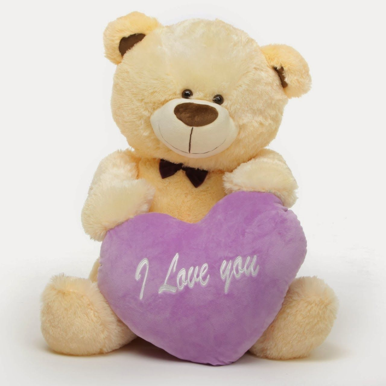Giant Teddy Brand Life Size Valentineu0027s Day Teddy Bear Gifts I Love You  Hearts Personalized Messages
