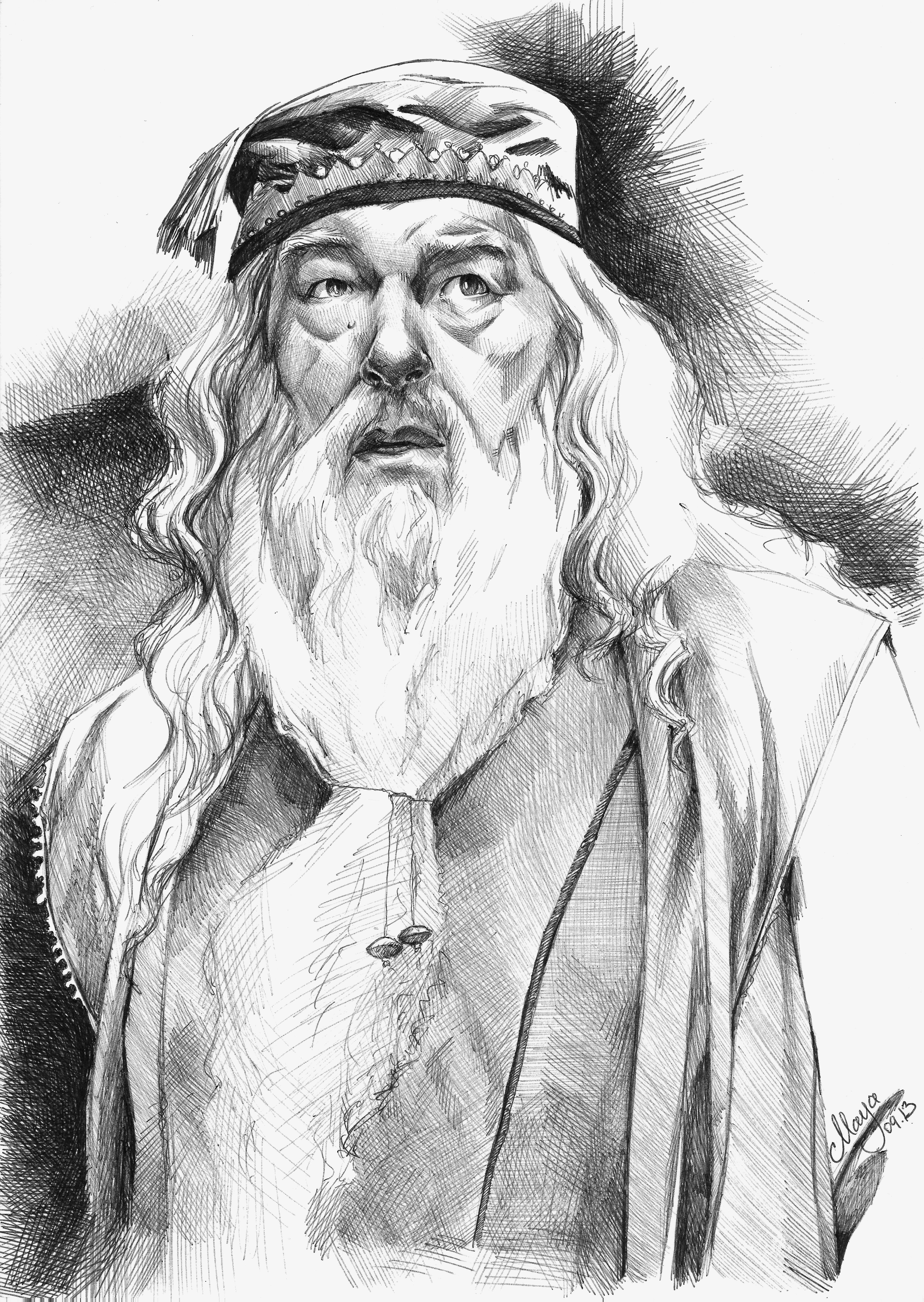 Albus Percival Wulfric Brian Dumbledore By Maya Notliketheotherdeviantart On DeviantART
