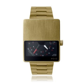 V02 Watch Anlg Gold-Tone Steel, 159€, now featured on Fab.