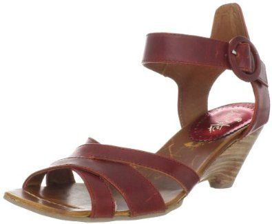 Chocolate Negro Women's 50517 Ankle-Strap Sandal