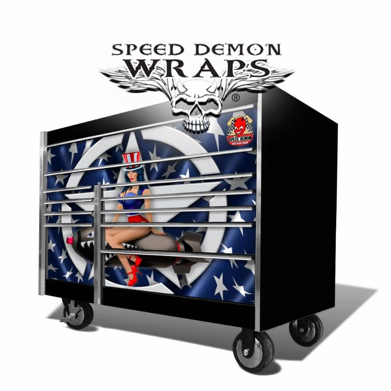 Snap On Tool Box Graphics Wrap Kits Tools Tool Box