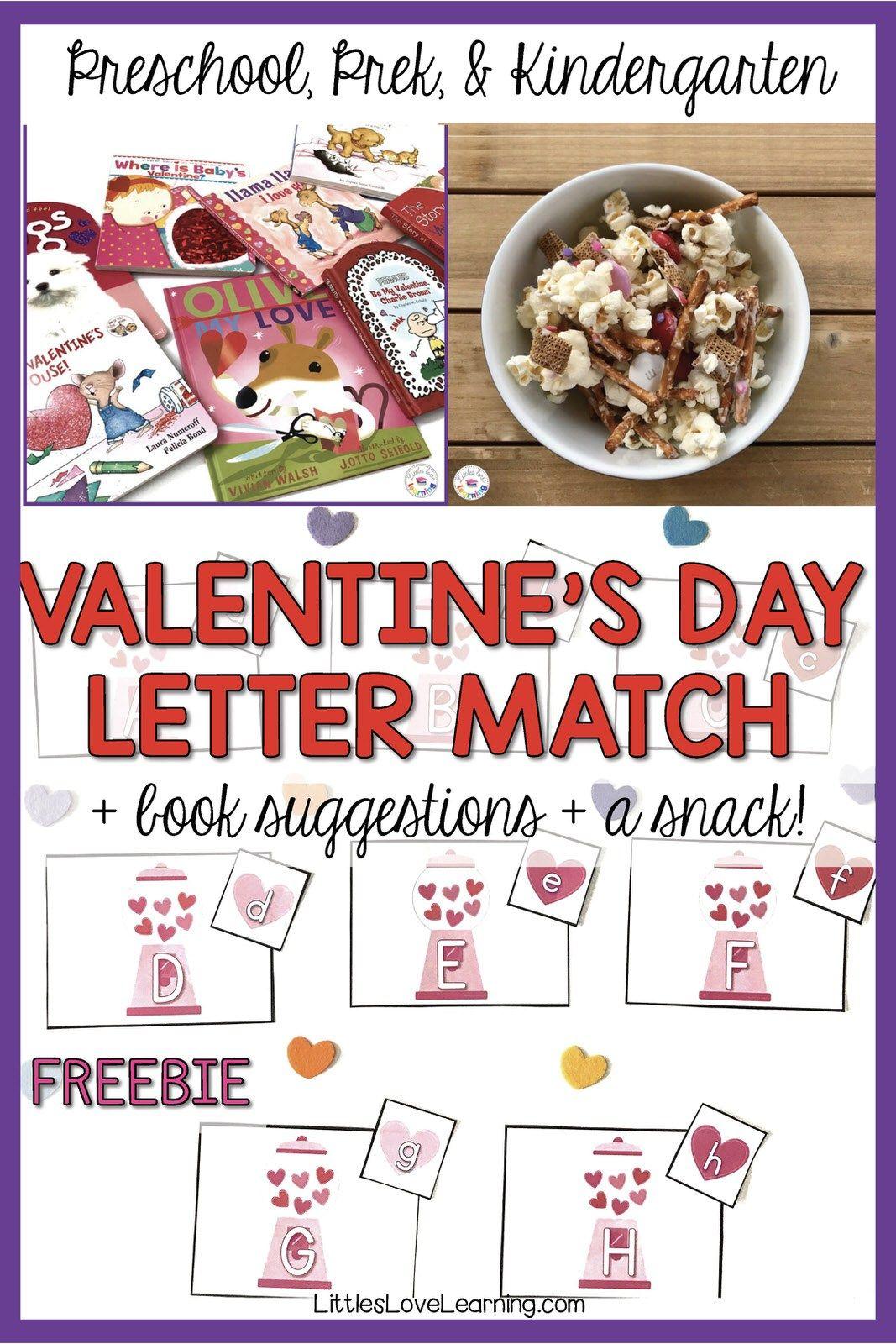 Free Valentine S Day Activity For Preschool Book