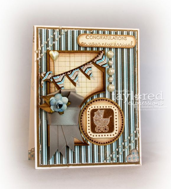 Congratulations by Sankari Wegman #Baby, #Cardmaking