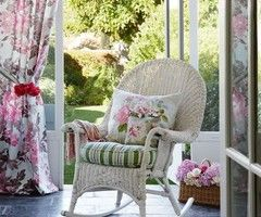 Romantic conservatory | Floral conservatory | housetohome.co.uk