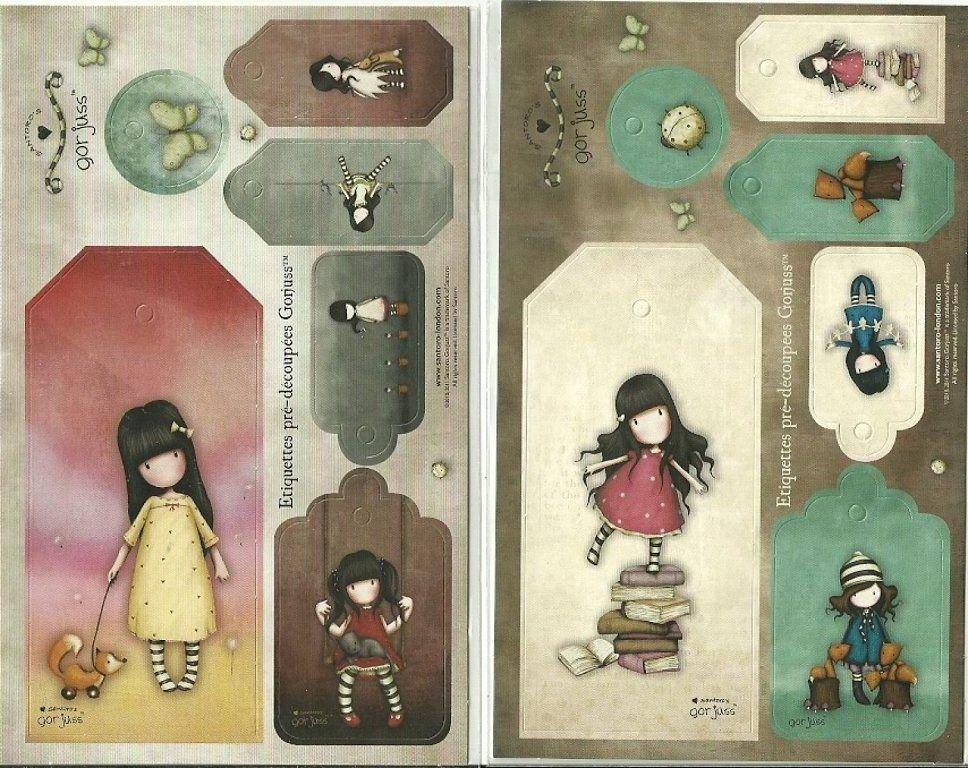 Dibujos De Gorjuss Santoro Para Colorear E Imprimir Gratis: Mis Laminas Para Decoupage