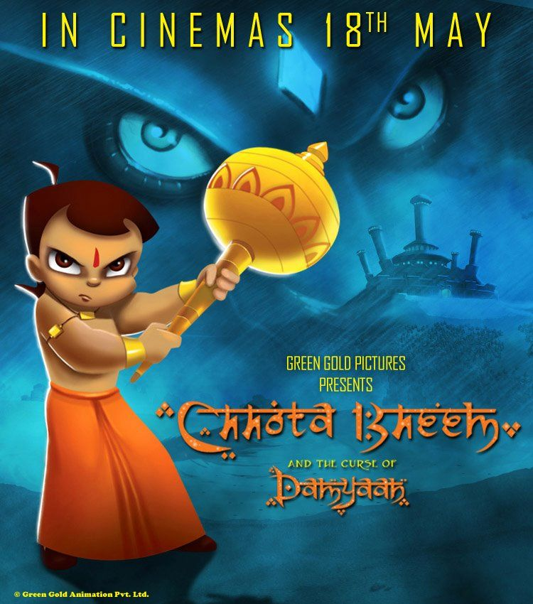 Chhota Bheem and the Curse of Damyaan Chhota Bheem and the Curse - best of chhota bheem coloring pages games