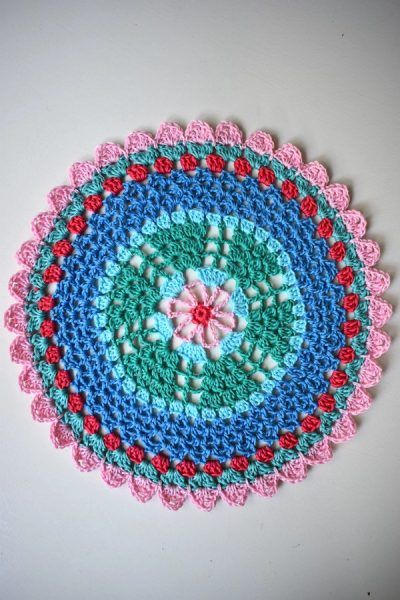 Kostenlose Anleitung Free Pattern Mandala Häckeln Pinterest
