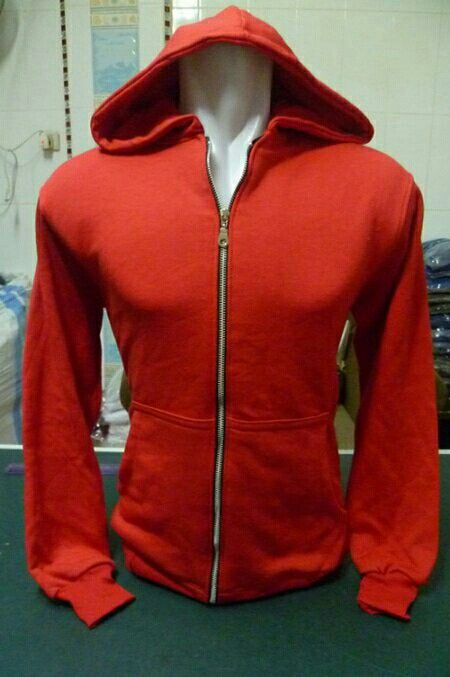Ready Jaket Hoodie Half Zipper Polos Size M dan L Bahan Cotton Fleece Halus  dan 11539d6c08