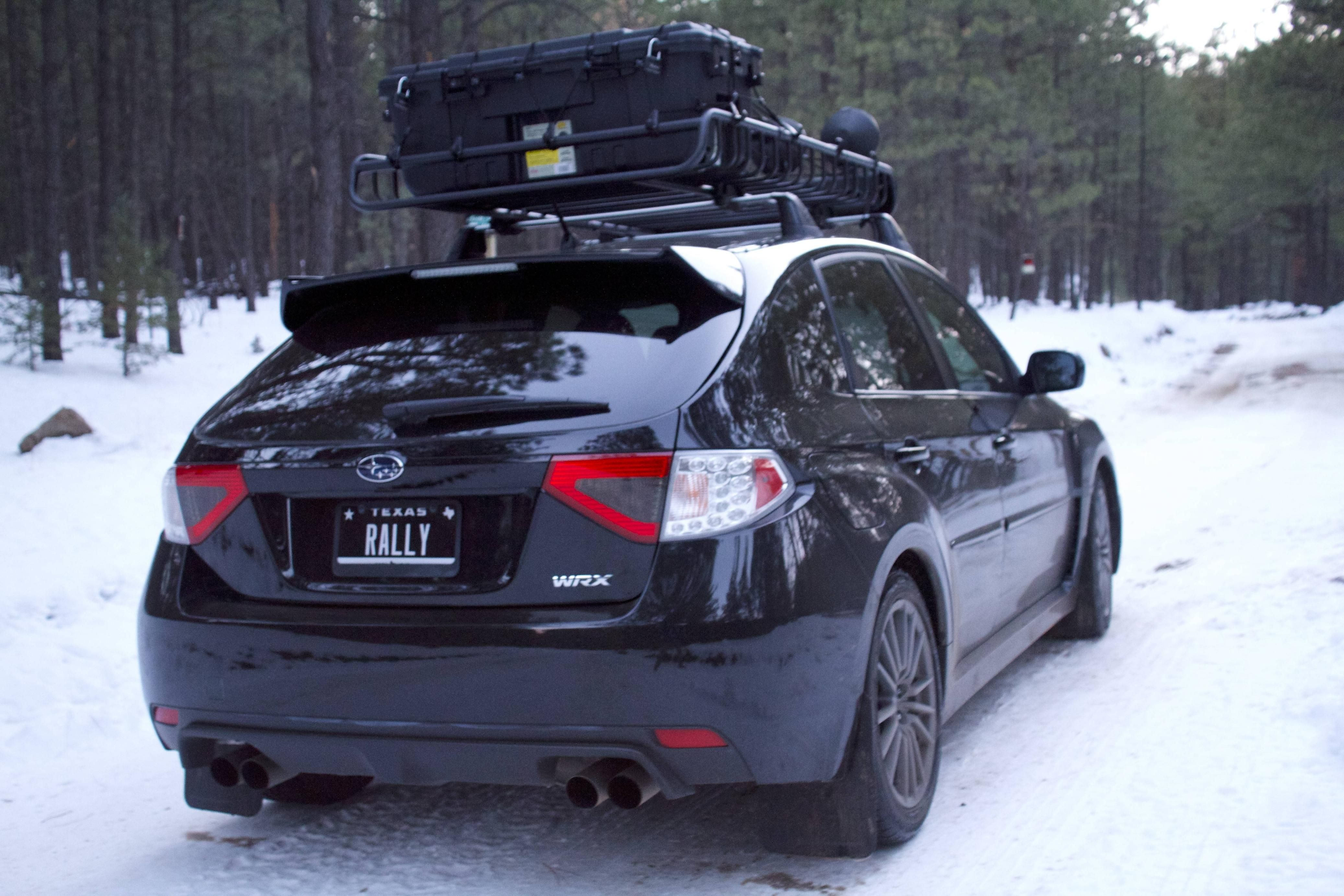 Roof Rack With Pelican Wrx Impreza Subaru Impreza