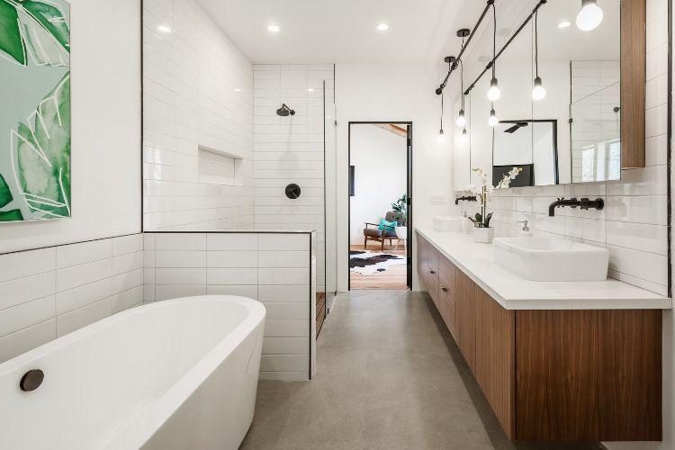Quarz Arbeitsplate Fur Ihr Badezimmer Die Vor Und Nachteile Von Quarzkomposit Badezimmer Kleine Badezimmer Inspiration Badezimmer Design