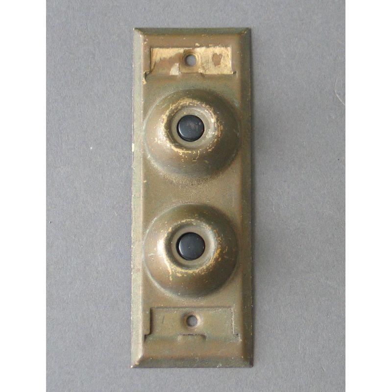 $65 Antique Brass Double Door Bell