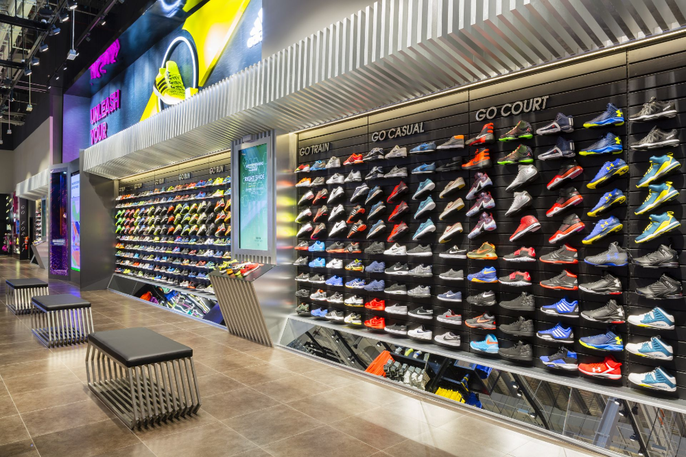 Retail Designs Go Sport, Mall of the Emirates Dubai in