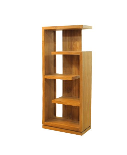 Paula Teak Display Shelf Buy Furniture Online Singapore