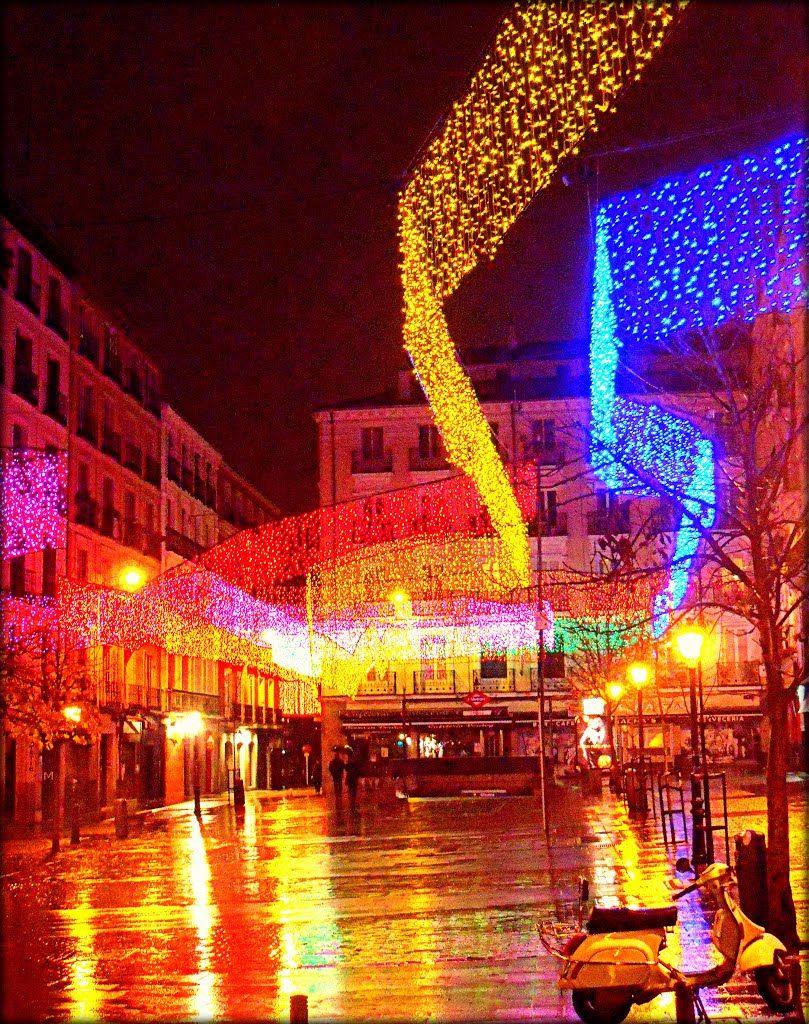 Christmas Madrid Plaza de Chueca