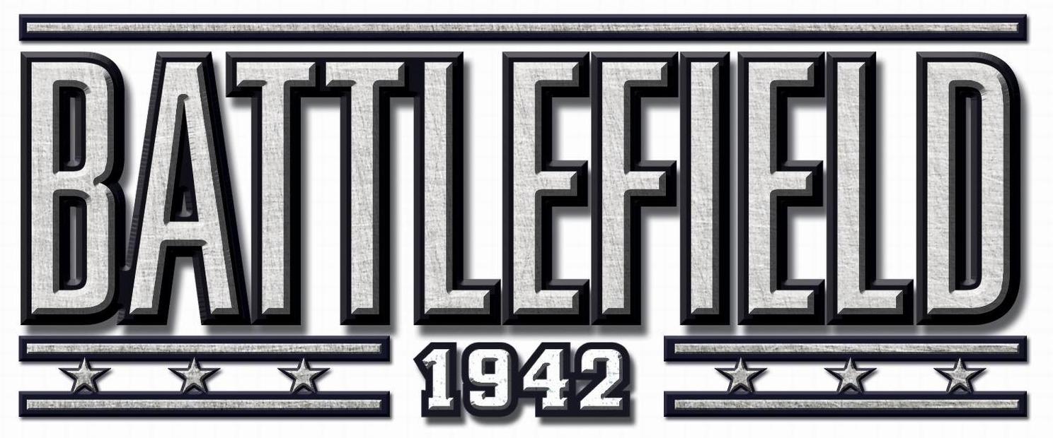 Battlefield 1942 Logo Brisa Estampas