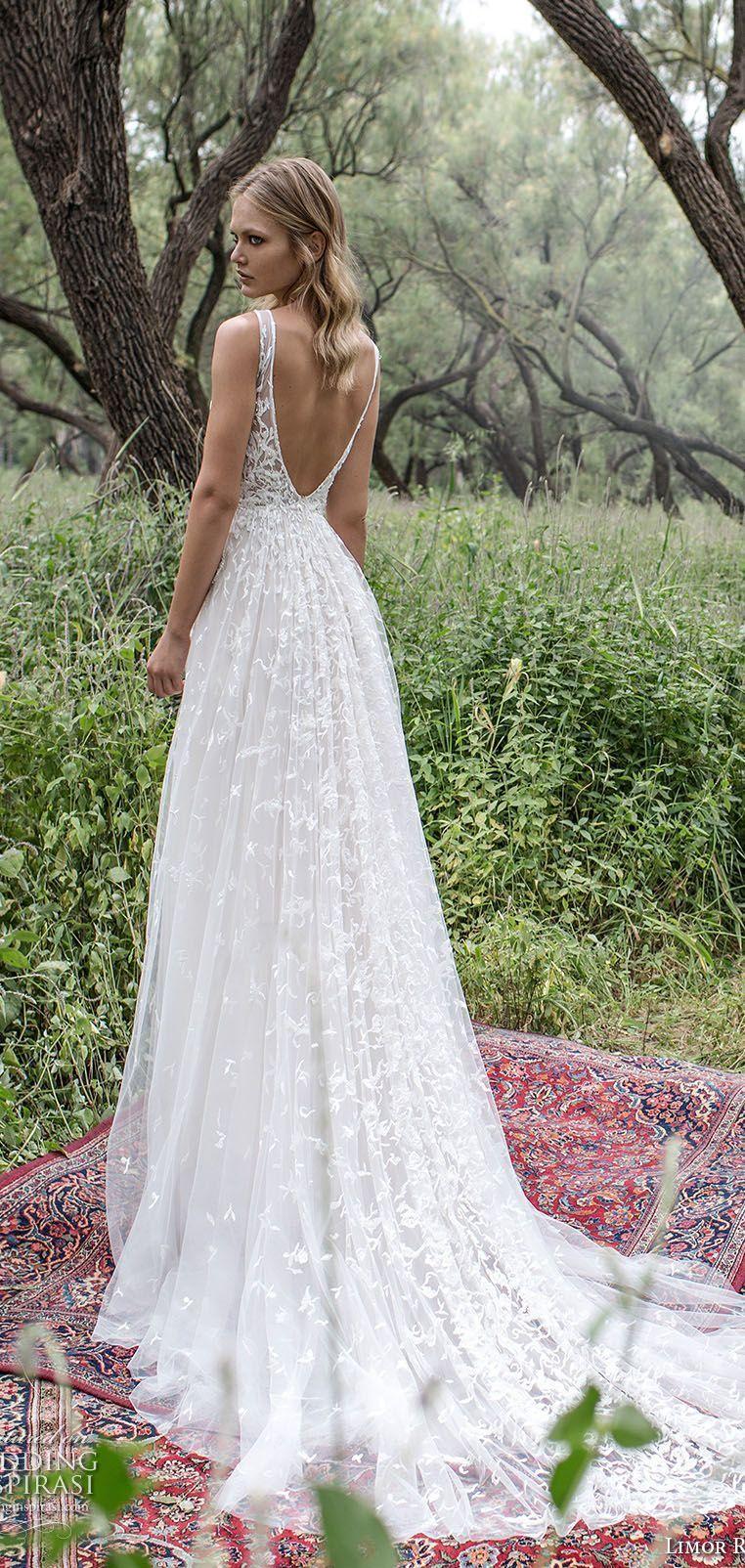 Bodice illusion open back sheer deep v neck sleeveless wedding