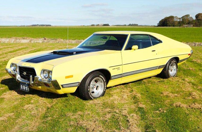 1972 Ford Gran Torino Sport Muscle Cars Ford Classic Cars