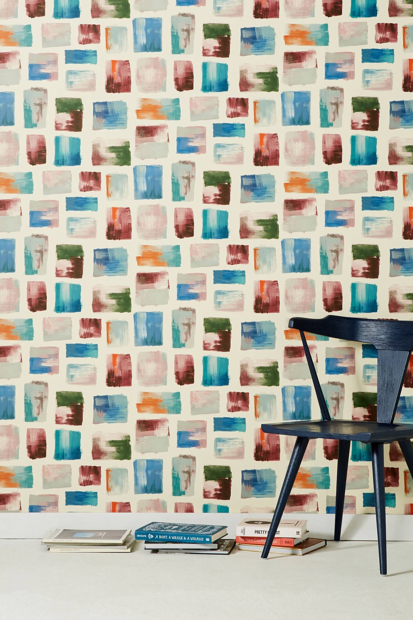 Shop The Burano Wallpaper And More Anthropologie At Anthropologie Today Read Customer Review Statement Wallpaper Living Room Wallpaper Border Modern Wallpaper