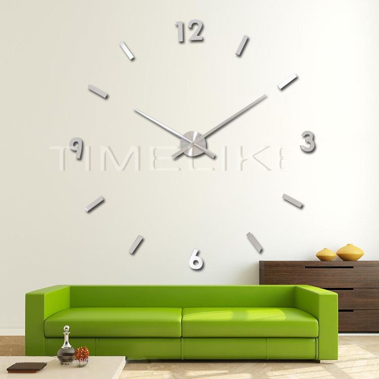 3d Diy Wall Clock Art Watch Horloge Metal Clock Mechanism Large Clock Hands Diy Clock Wall Large Wall Clock Clock Wall Art