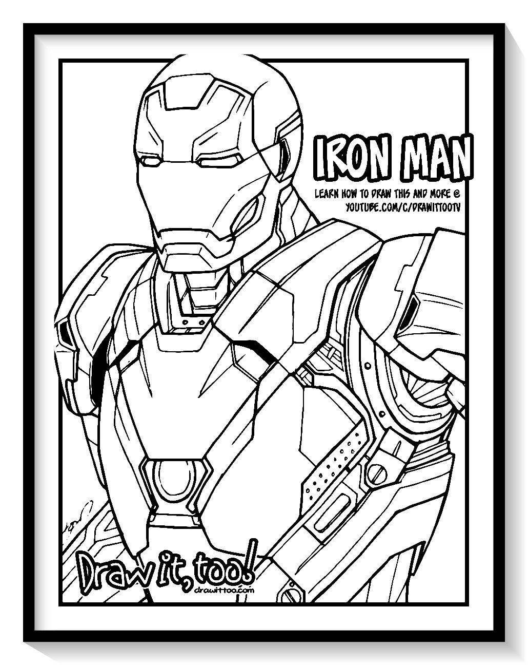 Dibujos De Iron Man Para Colorear En Linea Colorear E Imprimir Ironman Ironman Para Pintar Iron Man Para Colorear Ironman Dibujo Traje De Iron Man