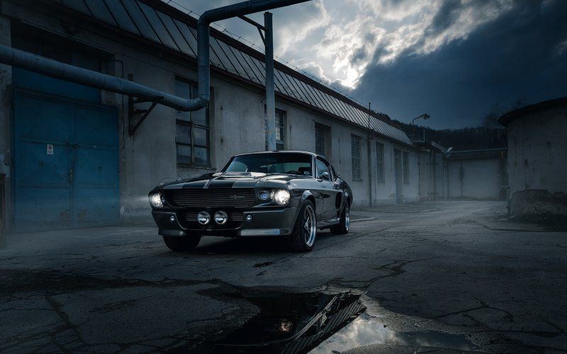 Wallpaper Black Ford Mustang Shelby Gt500 Avec Images Ford