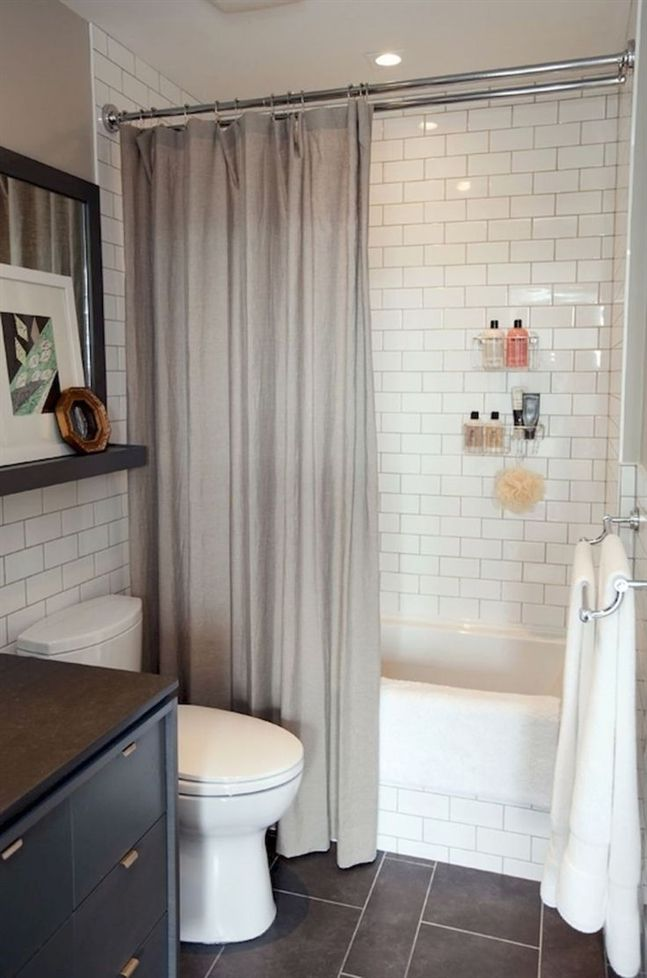 Cool Small Bathroom Remodel Ideas (25) #RemodelingGuide Remodeling