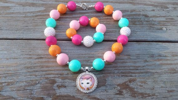 Sheriff Callie Chunky Bubblegum by CountryCoutureCo on Etsy